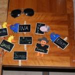 Zum Glück hatten wir Namensschilder für alle :-)